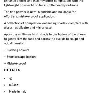 Burberry Makeup - 🌟FIRM PRICE Burberry Cameo Blush🌟